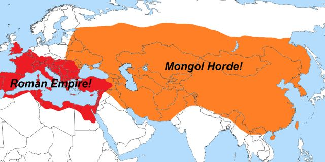 positive and negative effects of the mongol empire