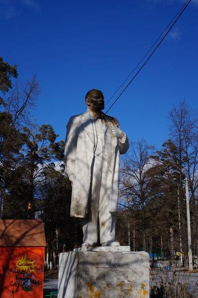 Ленин обгорел