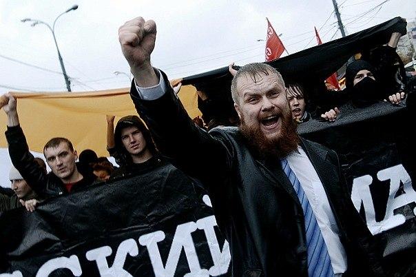 Дмитрий Дёмушкин — получил 8 суток, за попытку организовать шествие националистов в Москве