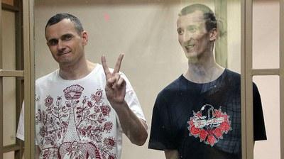 О. Сенцов и А. Кольченко