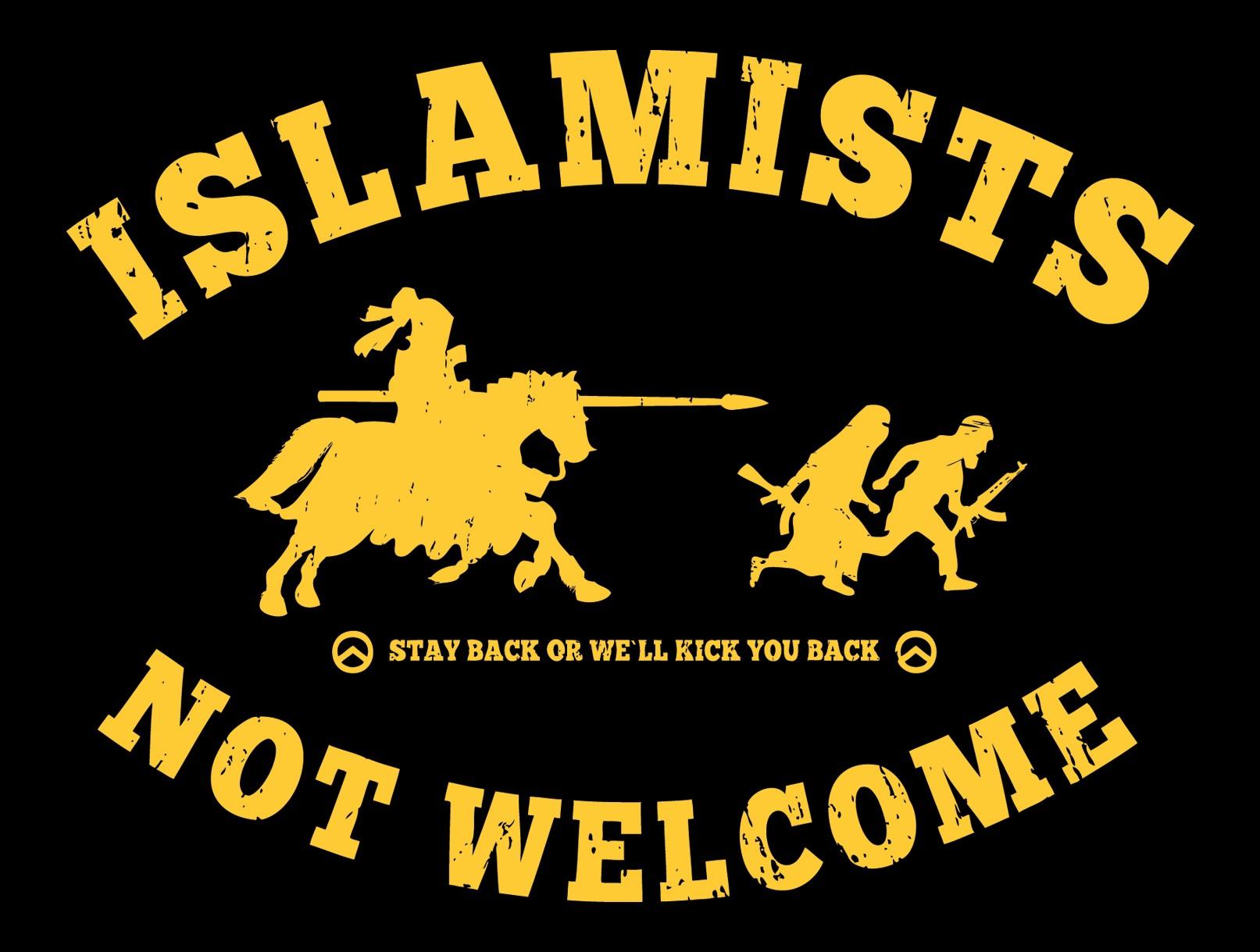 aufkleberislamists-not-welcome