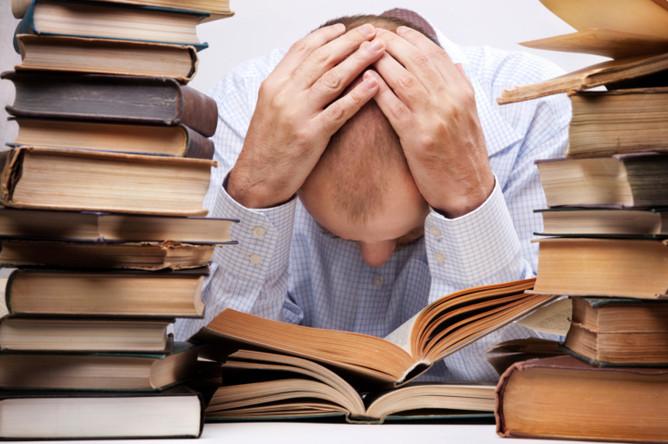 tired reader