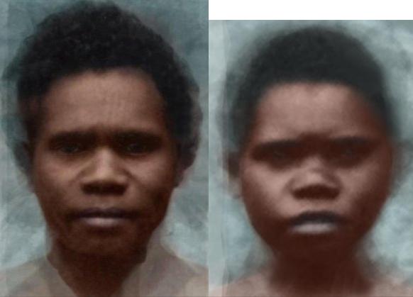 БАРРИНЕАН (Negrito Avstralid, Tosmanoyd, Негрито Австралид, Тосманойд)