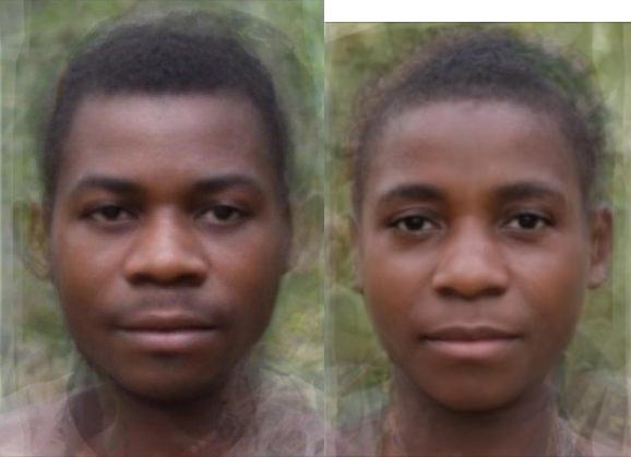 ЗАПАДНЫЙ БАМБУТИД (West Bambutid, West African pigmeid, Западно-африканский пигмеид)