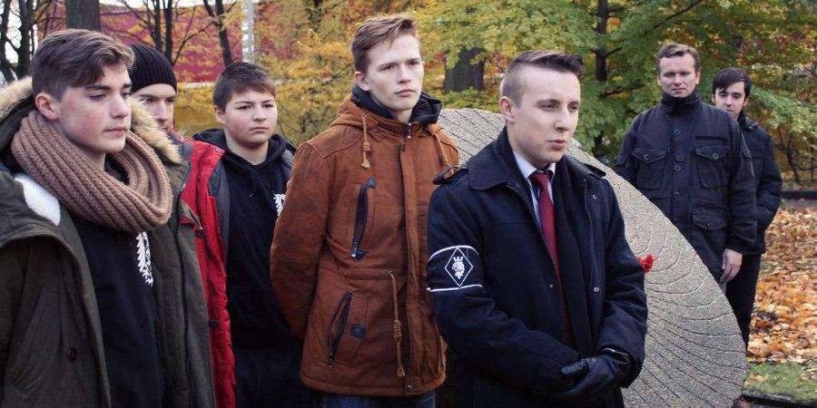 Фото: С повязкой БАРСа Игорь Крестов - зам. главы организации