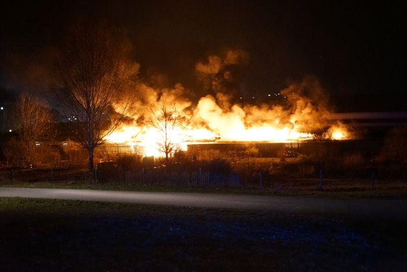 В Швеции подпалили одну из крупнейших мечетей